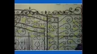 Кованные элементы(кованые элементы, собственное производство для заборов,ворот,решёток,перил для беседок для цветочниц и..., 2014-11-29T17:17:38.000Z)