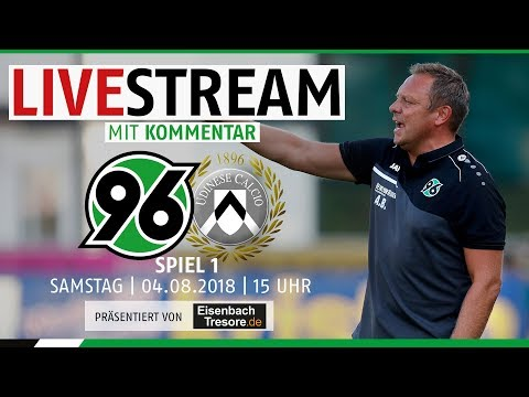 RE-LIVE: Hannover 96 vs. Udinese Calcio | Spiel 1