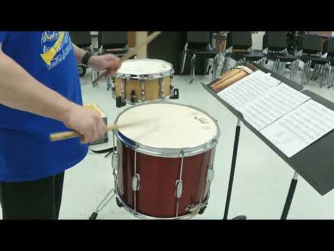 Cider Jug - Rudimental Snare Solo - John S. Pratt ~ Performed By Rob Rawlings ~
