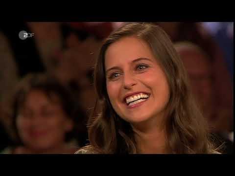 Claudia Darga bei Markus Lanz im ZDF  11.10.2017 (Public Broadcast German TV talk show)
