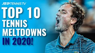 Top 10 ATP Tennis Meltdowns & Angry Moments in 2020!