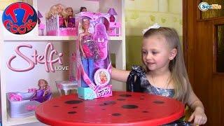 Кукла Штеффи. Распаковка и обзор беременной куклы от Ярославы. Видео для детей. Tiki Taki Cook