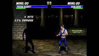 Mortal Kombat 3 [Arcade] - play as Noob Saibot (glitches)
