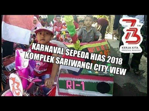 Karnaval 17 Agustus 2018 komplek Sariwangi City view Bandung