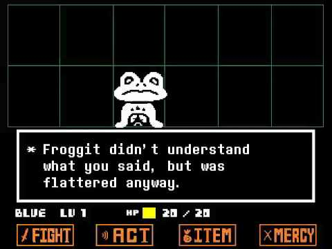 Undertale (Colored Sprite Mod) - Full Gameplay Part 1 (Pacifist) - No Commentary