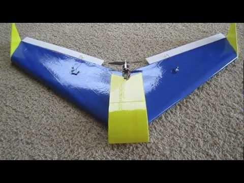 Dollar Tree Foam Delta Wing