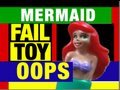 Fail Toy Mermaid Bum Thermometer Electronic Toy Funny Review Video by Mike Mozart @JeepersMedia