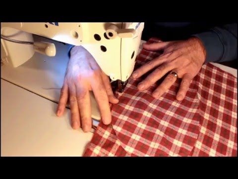 Flannel Pajama Pants with Pockets Sew Along. Complete steps for the Beginner Sewer.