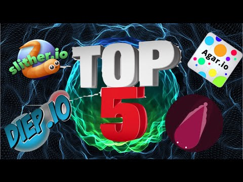 Top 5 io Games!