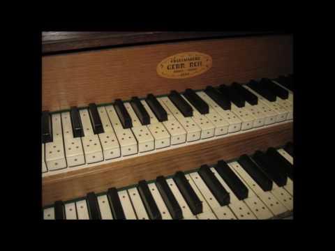 """Reil orgel Wapenveld. Fantasie over het lied: """"Lof zij de Heer, de Almachtige Koning der Ere""""."""