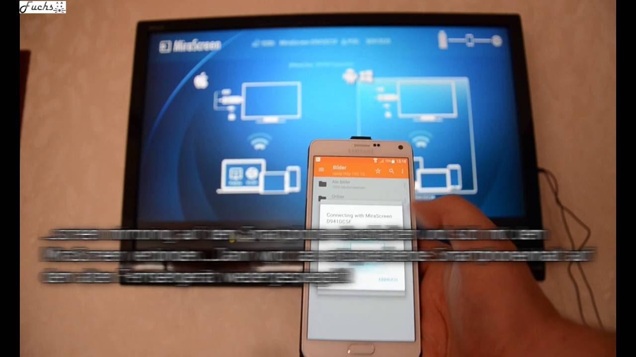 Mirascreen Dongle Fur Tv Ohne Usb Uber Fritzbox 7490 Und Uber Ein