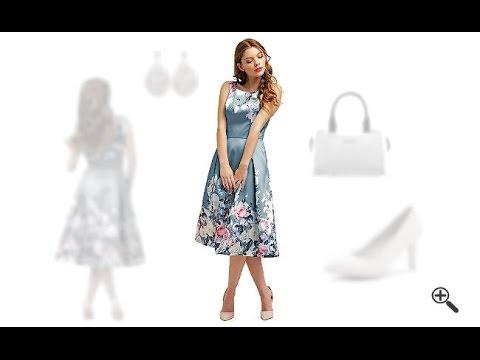 Kleider Die Schlank Machen 3 Sexy Outfits Fur Freia Youtube