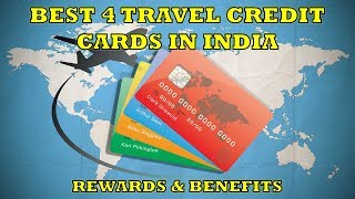 Best Travel Credit Cards in India - Review [Hindi]    Rewards Benefits Cashback    2018