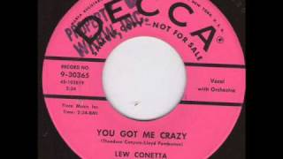 Lew Connetta - You got me crazy.wmv