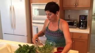Tracy Is Preparing - Watermelon Salad