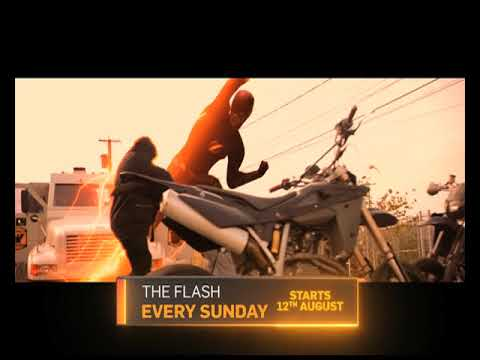 English Super-hit Television Series Flash Launches On Sunday, 12th August