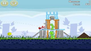 Český GamePlay | Angry Birds | Google Chrome Beta | PC | Level 1 - 10 | Full HD
