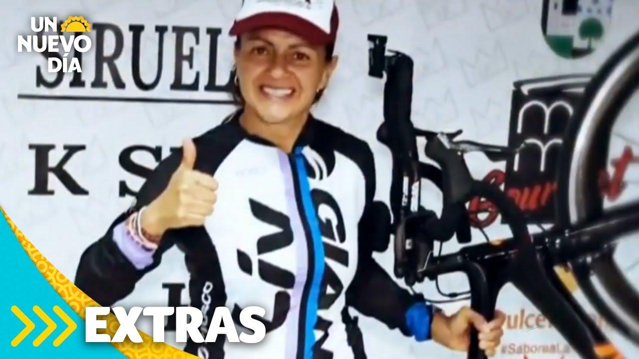 Lorena Olvera es la única mujer atleta en completar el Ultraking | Un Nuevo Día | Telemundo