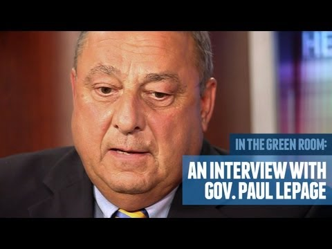 Maine Governor Paul LePage Discusses His Life and Government Reforms