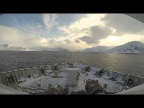 Hurtigruten 2015 - Zeitraffer/Timelapse (Nordnorwegen, Nord-Norge, Northern Norway)