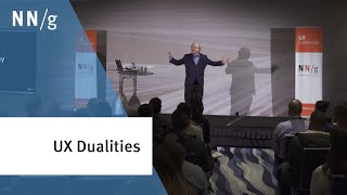 Dualities of User Experience (Jakob Nielsen keynote)