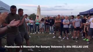 Premiazioni II Memorial Per Sempre Voleremo in Alto