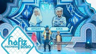 HAFIZ INDONESIA 2020 | Puzzle Ayat - Azka 7th & Afiqah 7th [17 Mei 2020]