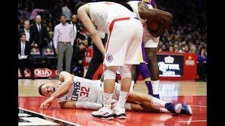 Blake Griffin Suffers Gruesome Knee Injury Vs LA Lakers 11/27/17