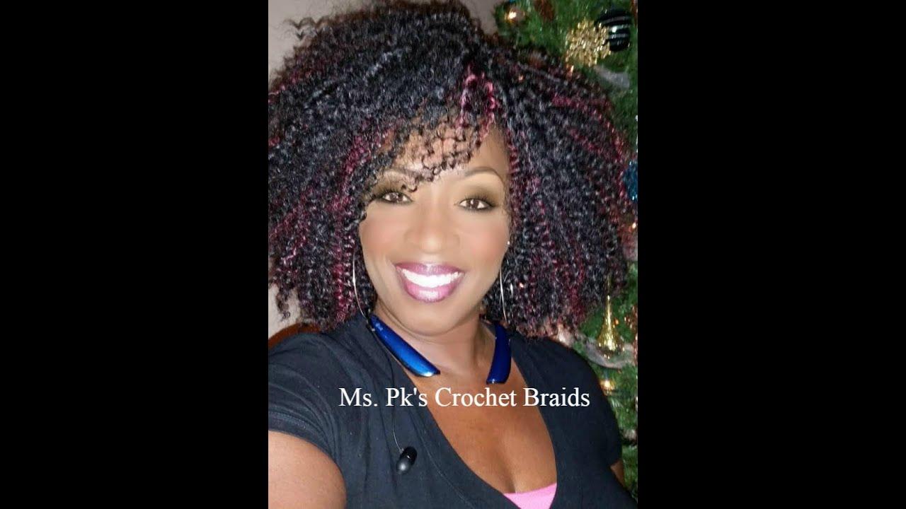 Ms. Pk's Crochet Braid Client Photo Gallery #4 - YouTube