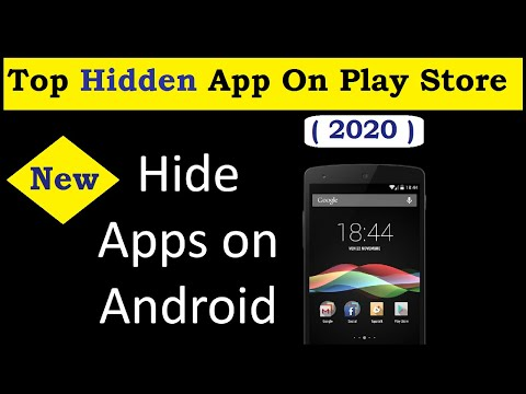 How To Hide Apps On Android & Best Hidden App On Google Play Store (No Root) Hide App Icon !