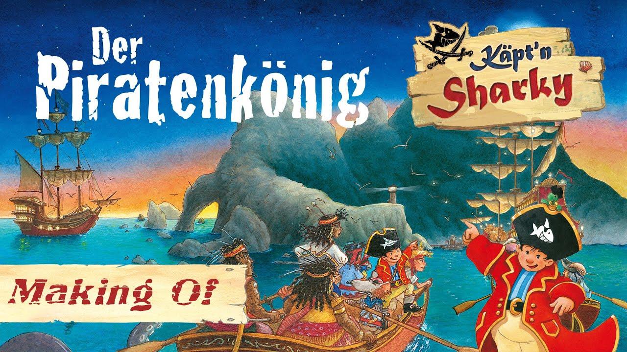 Käpt'n Sharky - Der Piratenkönig   Making Of aus dem Hörspiel Studio
