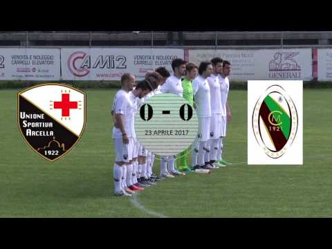 Arcella-Maerne 0-0 / highlights e interviste (23-04-2017)