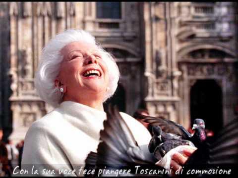 Giulietta Simionato. Samson Et Dalila: S'Apre per te il mio cor. Chicago.