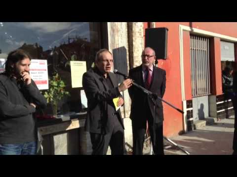 Discours // Inauguration du local NICE, L'HUMAIN D'ABORD