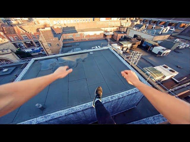 Rooftop Parkour POV - Believe