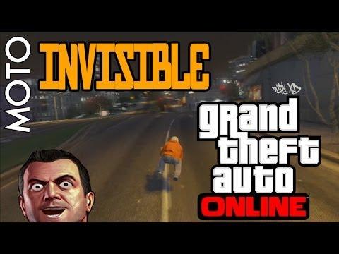 Moto INVISIBLE !!! Glitch - GTA 5 Online