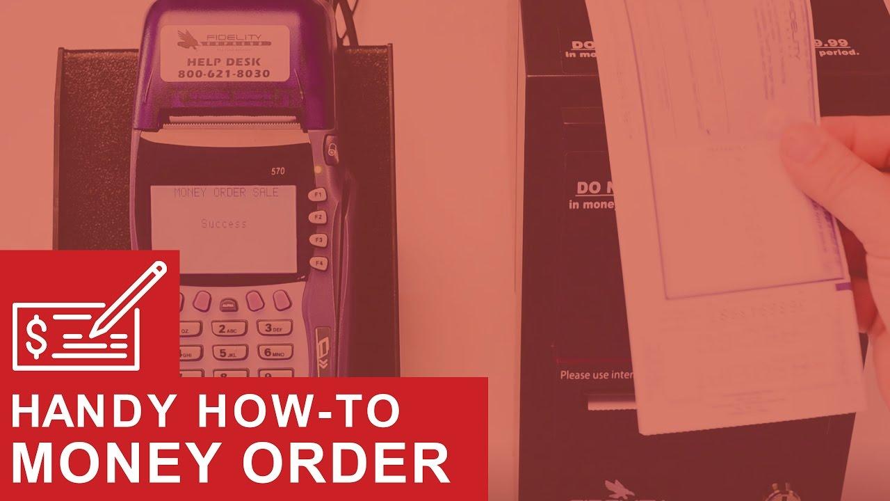 Printing A Money Order