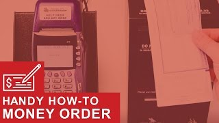 Printing a Money Order