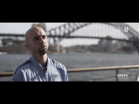 Adrian's First Interview | Sydney FC