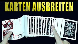 KARTEN AUF DEM TISCH AUSBREITEN LERNEN (RIBBON SPREAD) - #1 Zauberei-Basics