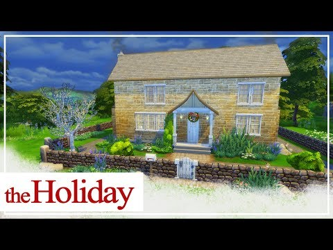 The Sims 4  The Holiday Movie House 🎄 SimsPinky