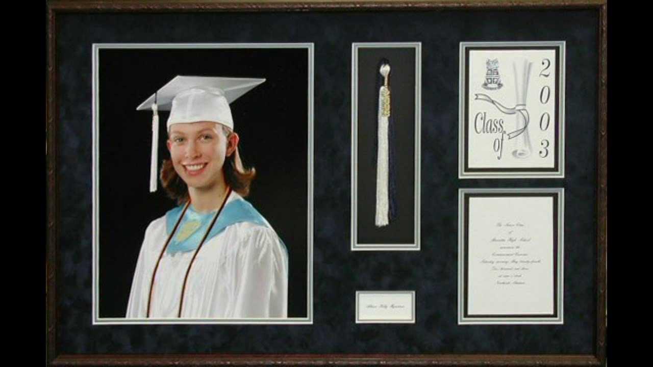 Custom Framed Diplomas Shadow Boxes Youtube
