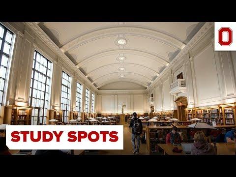 Ohio State Campus Study Spots