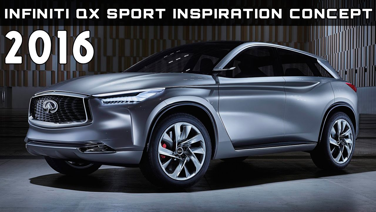 2016 Infiniti QX Sport Inspiration Concept Review Rendered Price ...