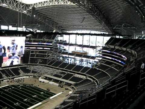 Cowboys Stadium From The Nose Bleed Seats Youtube