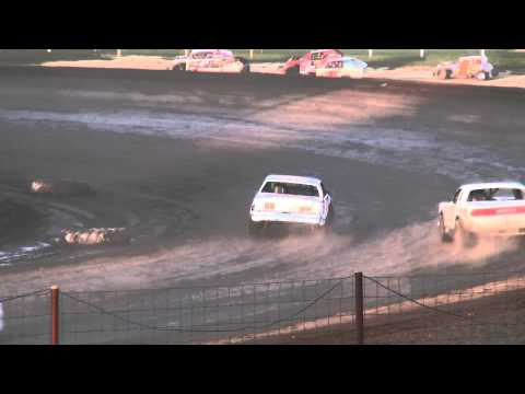 Hobby Stock feature Jackson County Speedway Fall Bash 10/19/14