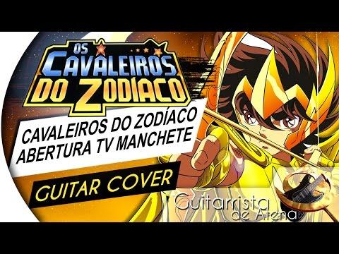 Saint Seiya - Por Athena! (TV MANCHETE OPENING 2) (Guitar Cover by Guitarrista de Atena)