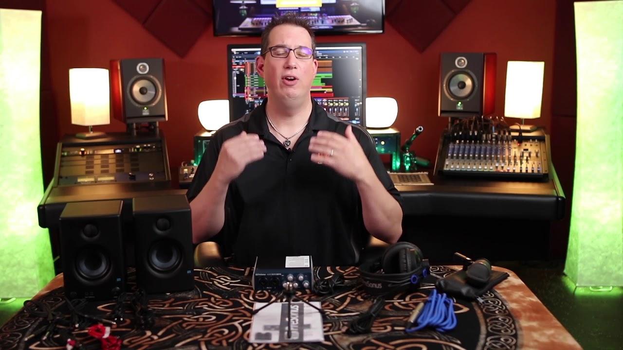 How to Set Up a Home Recording Studio | PreSonus