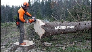 Stihl MS 500i - First Review C…