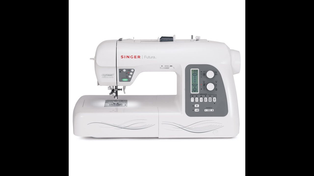 Singer Xl 580 Futura Embroidery And Sewing Machine With